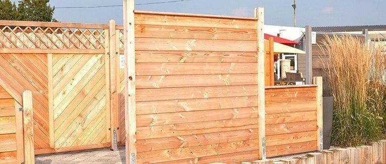 Gut gemocht Sichtschutzzaun kaufen aus Holz, Glas & WPC | HolzLand Klatt YE47
